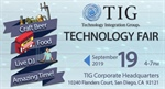 TIG Annual Tech Fair!